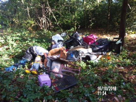 Picture of a fly tip