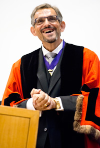 Honorary Alderman Richard Romain