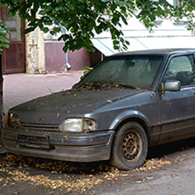 Neglected car